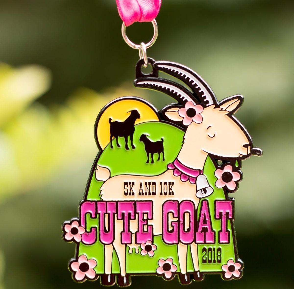 Now Only 10 Cute Goat 5K & 10K - Charleston