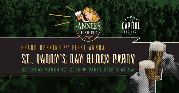 Annies Irish Pub Omaha St. Patricks Day Party