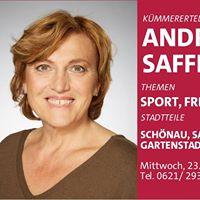Stadtrtin Andrea Safferling am Kmmerertelefon