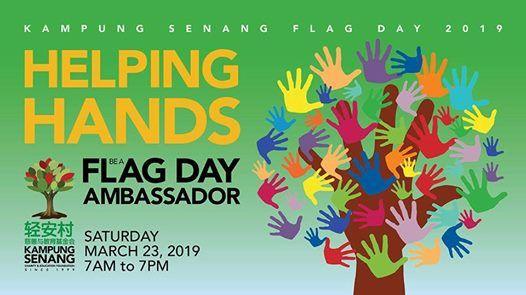 Be a Kampung Senang Flag Day Ambassador Volunteer