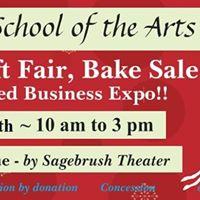 Kamloops School of the Arts HUGE Annual Craft &amp Bake Sale