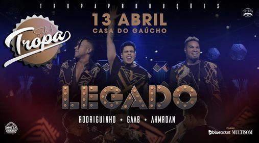 Rodriguinho  Gaab  AhMrDan (DVD LEGADO)  Samba da Tropa