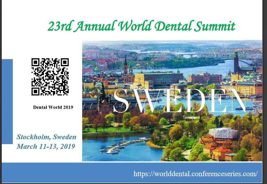 23rd Annual World Dental Summit (CSE)
