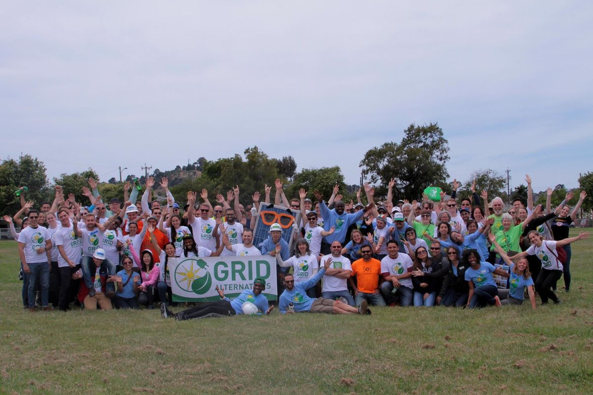 Volunteer Appreciation Happy Hour GRID Alternatives Bay Area