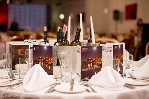ICAEW Annual Dinner - student  young member table