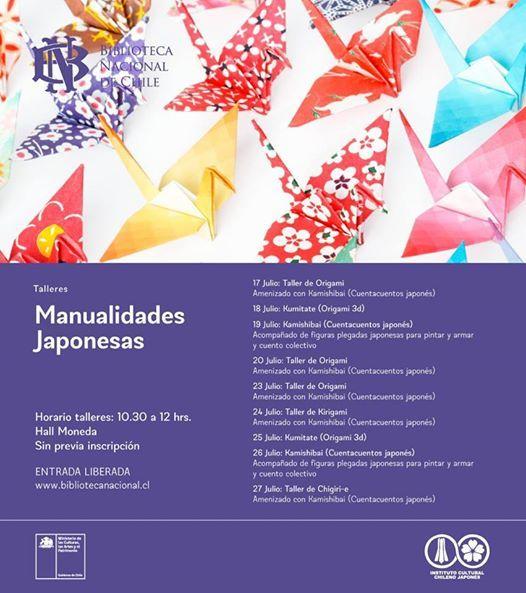 Talleres De Manualidades Japonesas At Biblioteca Nacional De