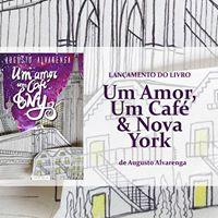 Lanamento do livro &quotUm Amor Um Caf &amp Nova York 3
