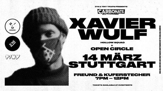 Xavier Wulf (Hollow Squad) - live in Stuttgart