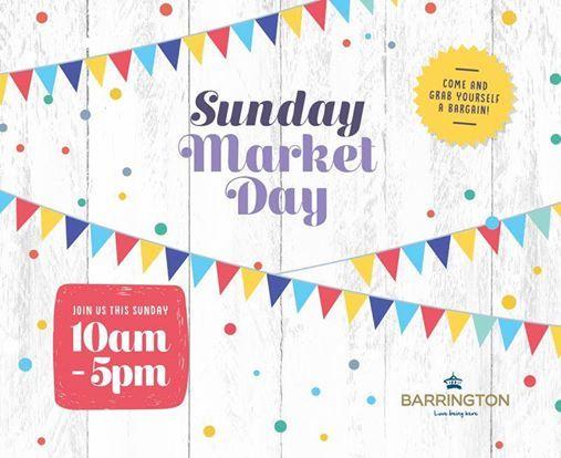 Sunday Market Day at Barrington