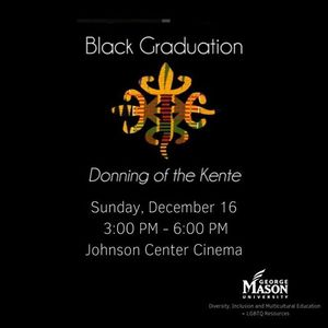 Winter Black Graduation