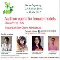 Audition for female models