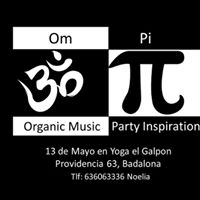 Om Pi Organic Music Party Inspirations