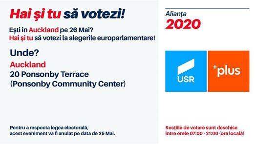 Romnii din Auckland voteaz la alegerile europarlamentare