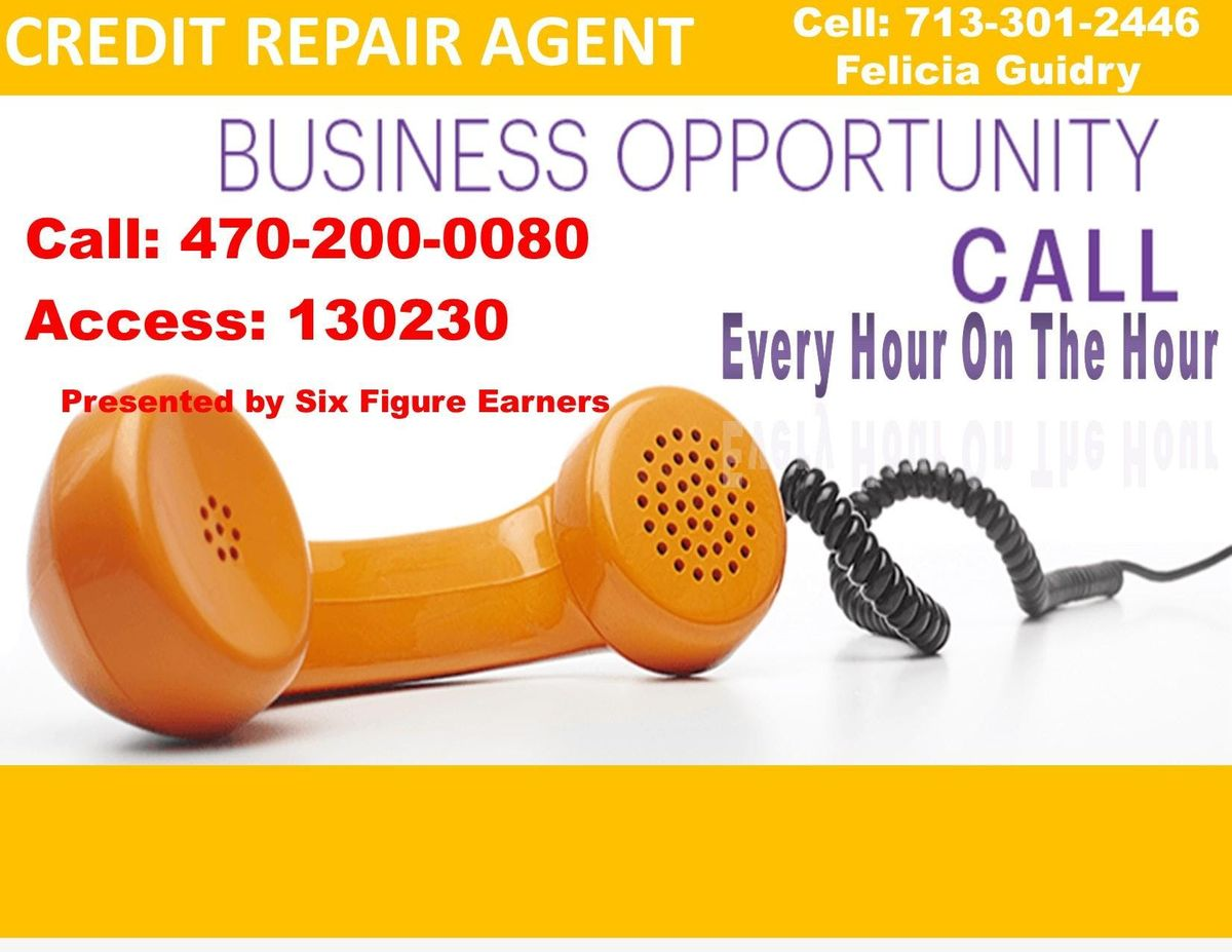 Credit Agent Business Opportunity Call-Austin