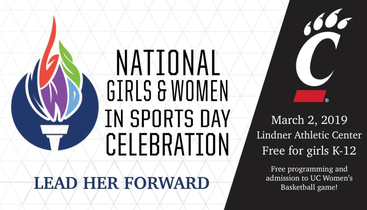 University of Cincinnati National Girls and Women in Sports Day