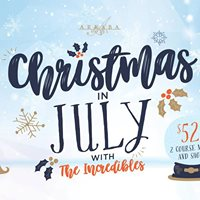 Christmas in July Dinner &amp Show with The Incredibles