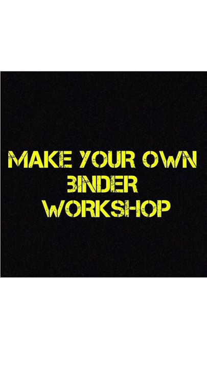 make your own binder workshop at greenwich london greater london