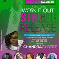 Rod Gee Single Release Gala