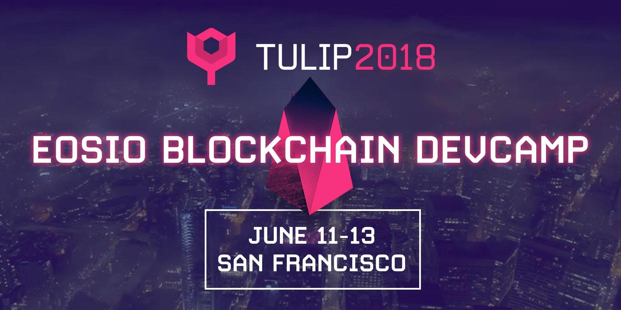 Eosio Blockchain Devcamp At Uc Berkeley Extension San Francisco
