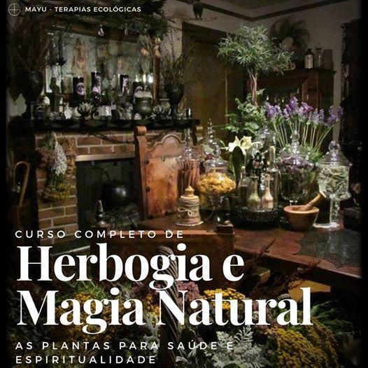 Curso de Herbologia e Magia Natural - Quinta