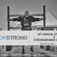 Survivor Strong Strongman &amp Strongwoman Competition