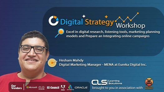 Digital Strategy Workshop with Hesham Mahdy Digital Manager