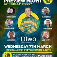 Cheltenham Preview Night  Dtwo