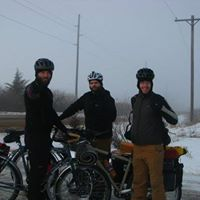Stagecoach Winter Bike Camping Trip