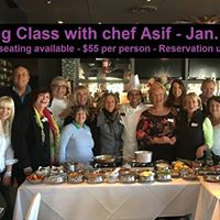 Cooking Class with Chef Asif