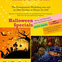 Halloween Special Workshops  Pomegranate Goa Launch