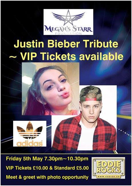 Megans starr justin bieber tribute party at eddies haverfordwest megans starr justin bieber tribute party m4hsunfo