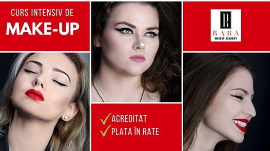 Curs Intensiv De Make Up Acreditat At Rara Make Up Academy Iasi