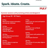 Spark Create Ideate - Summer Workshops