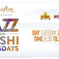 Jazz &amp Sushi Tuesdays 3