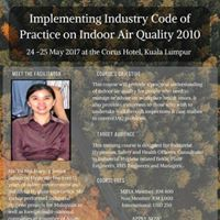 Implementing ICOP on Indoor Air Quality (IAQ) 2010