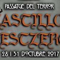 28 y 31 octubre Pasaje del terror