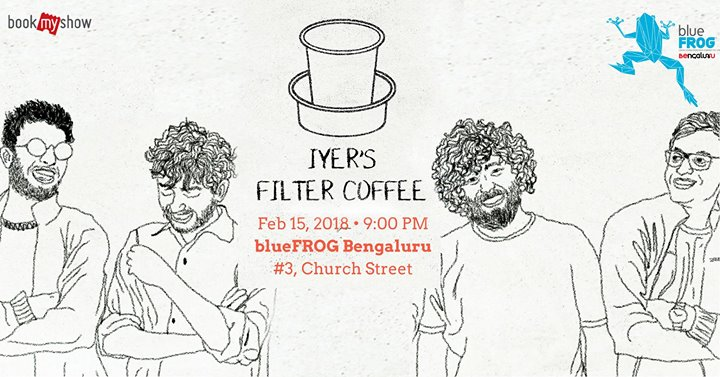 Iyers Filter Coffee at blueFROG