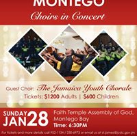 Montego Bay Choirs in Concert