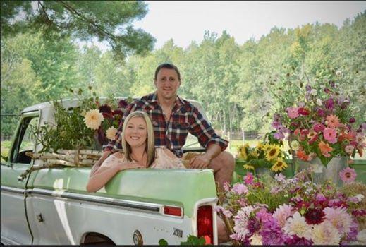 Flower Truck Photo Shoot