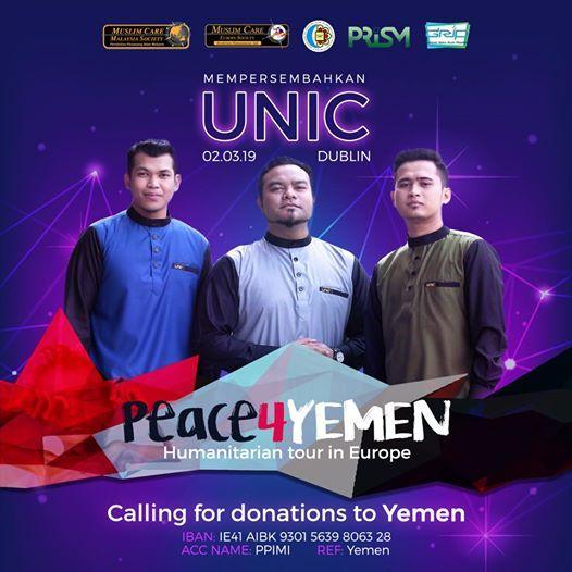 Peace4Yemen UNIC Concert