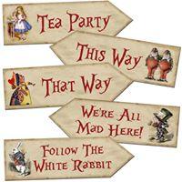 Alice In Wonderland Mad Hatters Tea Party Please Register