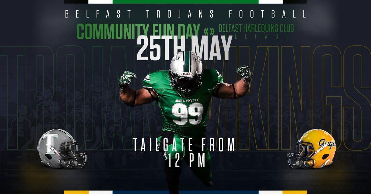 The Belfast Trojans Community Fun Day