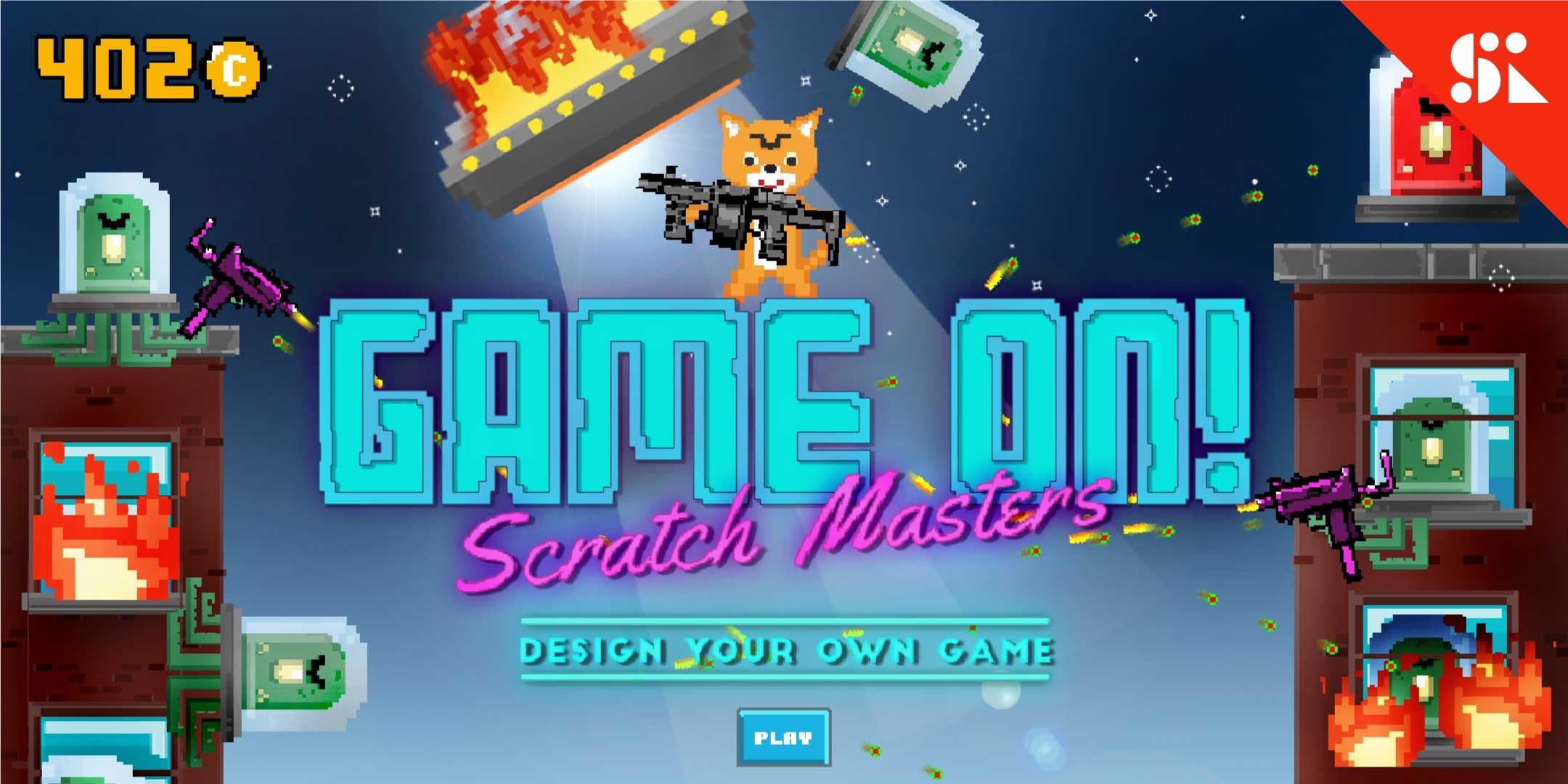 GAME ON Scratch Masters Design Your Own Game [Ages 10-13] 2 Jul - 6 Jul Holiday Camp (930AM)  Orchard