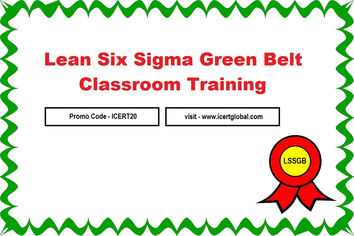 Lssgb Certification Classroom Training In Seattle Wa At Seafirst