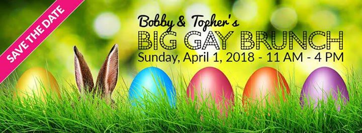 Bobby and Tophers Big Gay Brunch HandsOffMyEggs