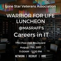 Warrior for Life Luncheon