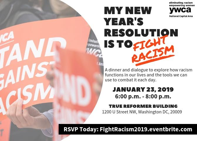 My New Years Resolution is to Fight Racism