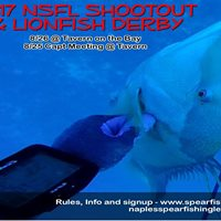 2017 NSFL Spearfishing Tournament &amp Lionfish Derby  Aug. 26