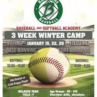 Bar None 3-Week Winter Camp