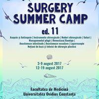 Surgery Summer Camp ed. 11- Sesiunea 1